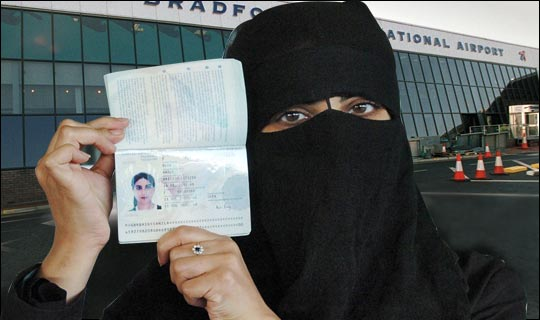 CANADA allows veiled Muslim women to bypass airport security checks
