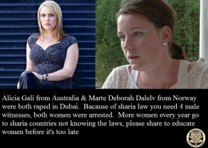 dubai rape oz and norway