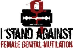 I stand against FGM